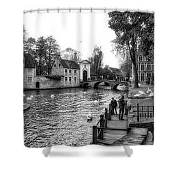 Bruges Bw3 Shower Curtain