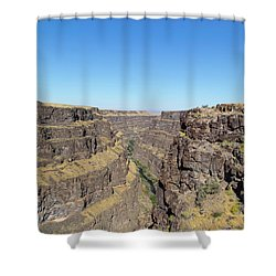 Bruneau Canyon Overlook, Idaho Shower Curtain