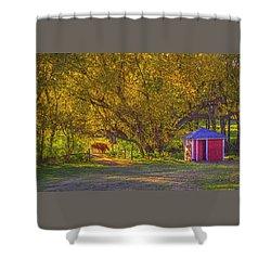Brunner Organic Family Farm Shower Curtain