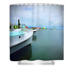 Brunswick St. View Shower Curtain