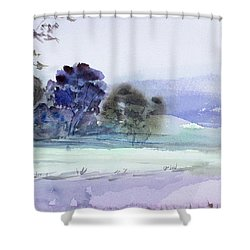 Bruny Island At Dusk Shower Curtain