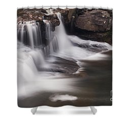 Brush Creek Falls Shower Curtain