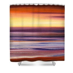 Brushed 2 Shower Curtain