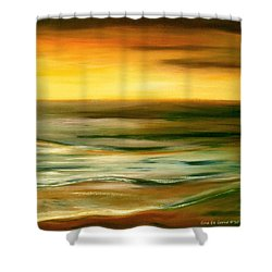Brushed 7 Shower Curtain
