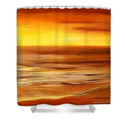 Brushed 8 Shower Curtain