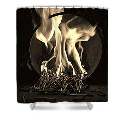 Brushfire 13 Shower Curtain