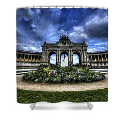 Brussels Parc Du Cinquantenaire Shower Curtain