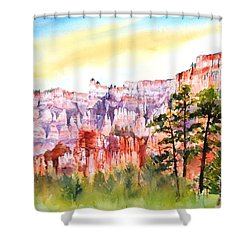 Bryce Canyon #3 Shower Curtain by Betty M M Wong
