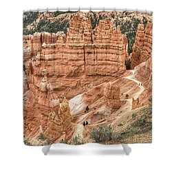 Bryce Canyon Shower Curtain by Geraldine Alexander