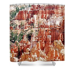 Bryce Canyon Hoodoos Shower Curtain by Nancy Landry
