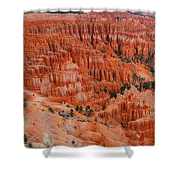 Bryce Canyon Megapixels Shower Curtain by Raymond Salani III