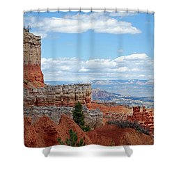 Bryce Canyon Shower Curtain by Nancy Landry