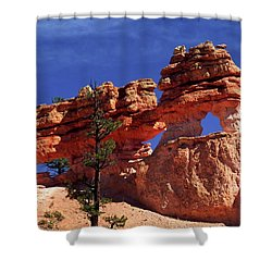 Bryce Canyon National Park Shower Curtain by Sally Weigand