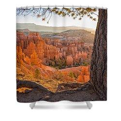 Bryce Canyon National Park Sunrise 2 - Utah Shower Curtain by Brian Harig