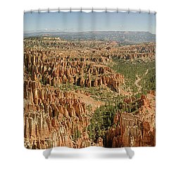 Bryce Canyon Panorama Shower Curtain