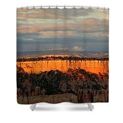 Bryce Canyon Sunset Shower Curtain