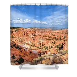 Bryce Canyon - Sunset Point Shower Curtain