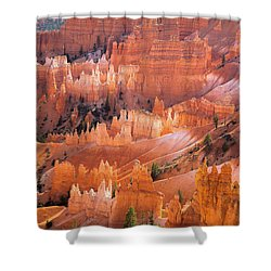 Bryce Glow Shower Curtain