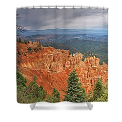 Bryce Squall Shower Curtain