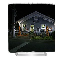 Bryson City Train Station Shower Curtain by Lamarre Labadie