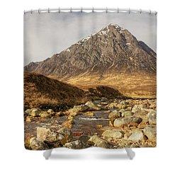 Buachaille Etive Mor II Shower Curtain