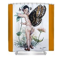 Bubble Butt Fairy Shower Curtain