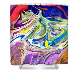 Bubble Gum Ice Cream Shower Curtain