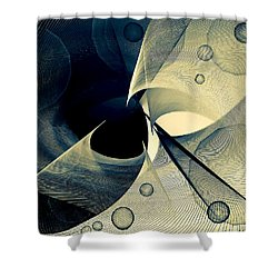 Bubble Hurricane Shower Curtain