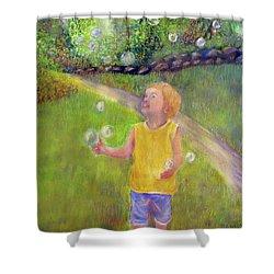 Bubble Magic Shower Curtain