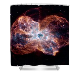 Bubble Nebula Shower Curtain by Hubble Space Telescope