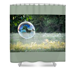 Bubbles - 1 Shower Curtain