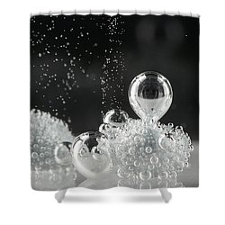 Bubbling Shower Curtain
