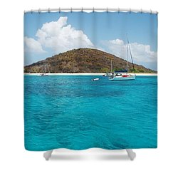 Buck Island Reef National Monument Shower Curtain
