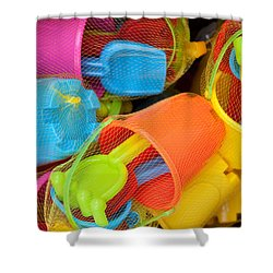 Buckets And Spades Shower Curtain