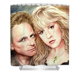 Buckingham Nicks Shower Curtain