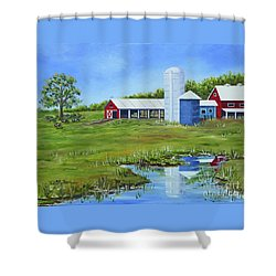 Bucks County Farm Shower Curtain