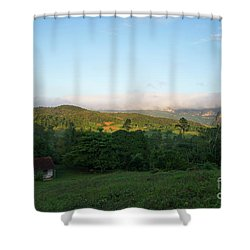 Bucolic Vinales I Shower Curtain