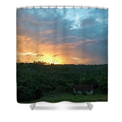 Bucolic Vinales Shower Curtain