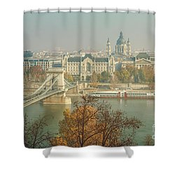 Budapest, Hungary Shower Curtain