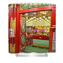 Buddha Tooth Relic Temple And Museum Shower Curtain by Eva Kaufman