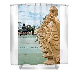 Buddhist Temple In Foz Do Iguaçu Shower Curtain