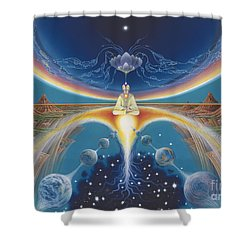 Budhistic Dreams Shower Curtain