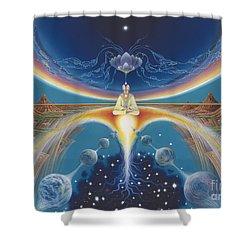Budhistic Dreams Shower Curtain