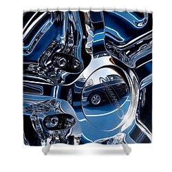 Budnik Wheel 03 Shower Curtain