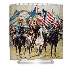 Buffalo Bill: Poster, 1893 Shower Curtain by Granger