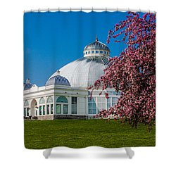 Buffalo Botanical Gardens North Lawns Shower Curtain