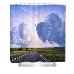 Buffalo Crossing Shower Curtain
