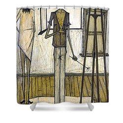 Buffet: Artist, 1948 Shower Curtain by Granger