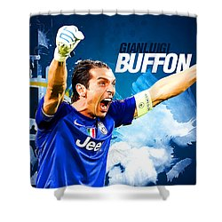 Buffon Shower Curtain