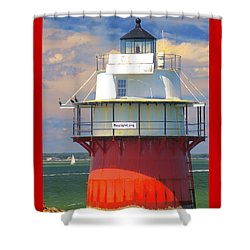 Bug Light Plymouth Shower Curtain